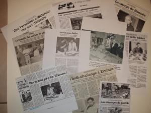 Coupures de presse (Sud-Ouest ...)