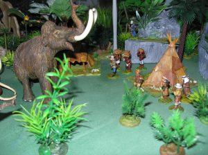 """Safari dans la préhistoire sur """"lost lands"""". Authentique mammouth de lascaux."""