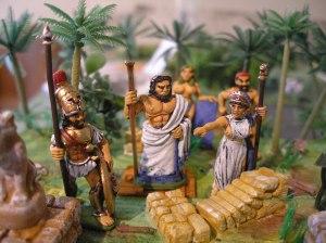 """Dans """"guerre de Troie"""" les dieux interviennent ."""
