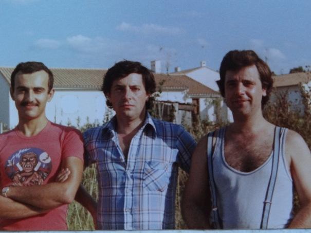 Les fondateurs durant les années 80