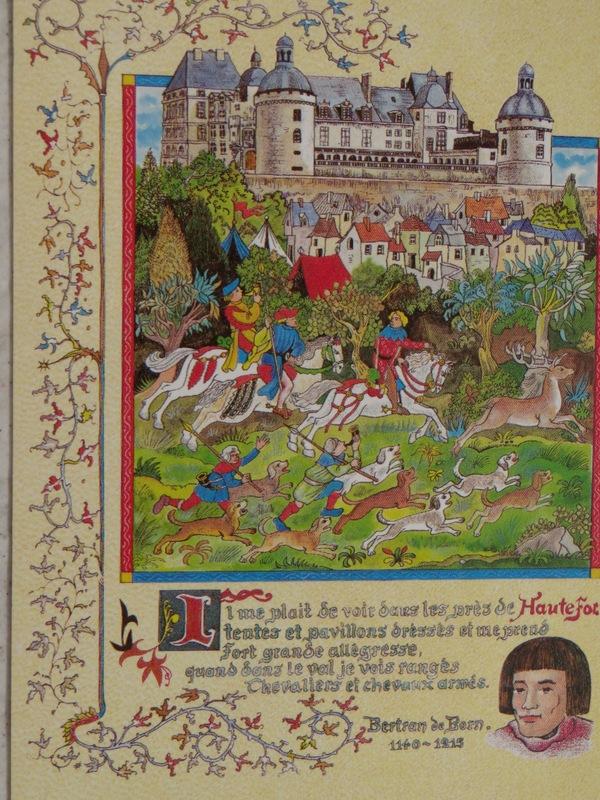 D'abord Hautefort, château de Bertrand de Born le ménestrel.