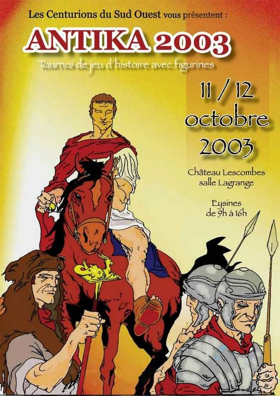 L'affiche de 2003. Un dessin original de Michel Nolot
