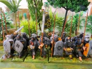 Une seconde unité de 24 figs (16 lanciers bouclier hippo et 8 archers)
