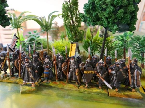 Ben Youssef devant une unité de 36 figs (24 lanciers et 12 archers derrière)