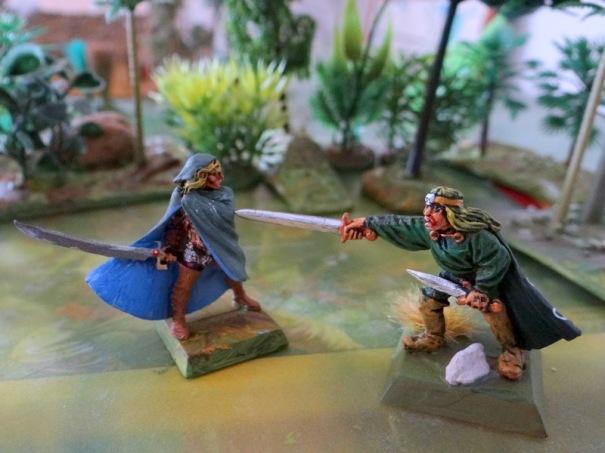 Combat d'elfes à défaut de mousquetaires !