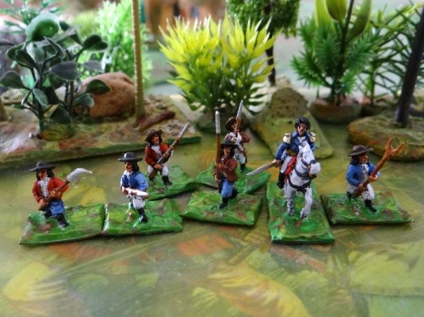 Les piétons, idéal pour un skirmish à défaut d'avoir une armée complète.
