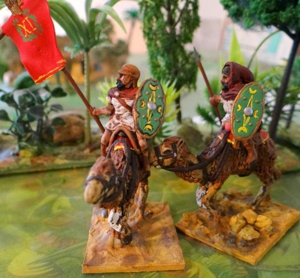 La XIème dromadary ! A base de figurines Essex, je crois,  comme les précédents.