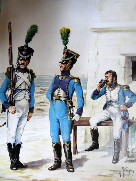 Pour le capitaine Barlossier à droite.