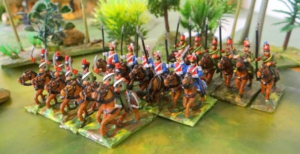Voila les escadrons jeune garde d' A Touller, (éclaireurs chasseurs, éclaireurs grenadiers, éclaireurs dragons )
