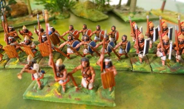 Les Canaanites et divers vassaux