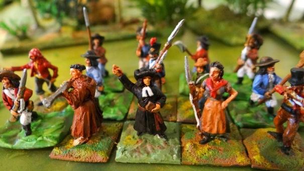 Napoléon et la guerre d'Espagne. Du pain béni pour l'amateur de révoltes. Figs Minifigs, warmodelling