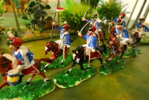 Les hussards anglais