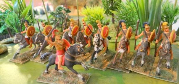 A part un grand nostalgique, qui voudrait de ces cavaliers grecs aujourd'hui ? Pour le nostalgique sachez que la gamme est toujours disponible chez Garrison miniatures qui a l'air de se restructurer . I s'agit, là, d'une gamme 20 mm.
