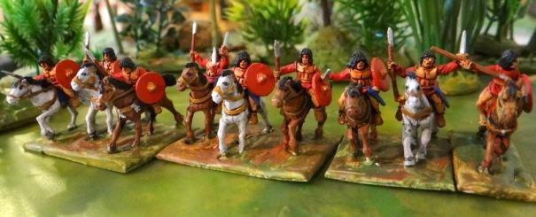 Cavalerie lybienne Corvus