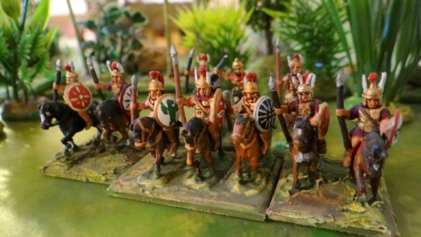 Cavalerie italienne Donnington
