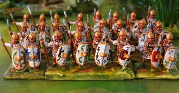 Infanterie lourde lybienne Corvus belli
