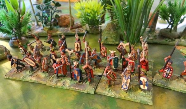 Des Gaulois. Carthage en utilisa des quantités !