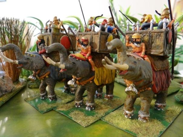 Eléphants macédoniens (irregular, Minifigs)