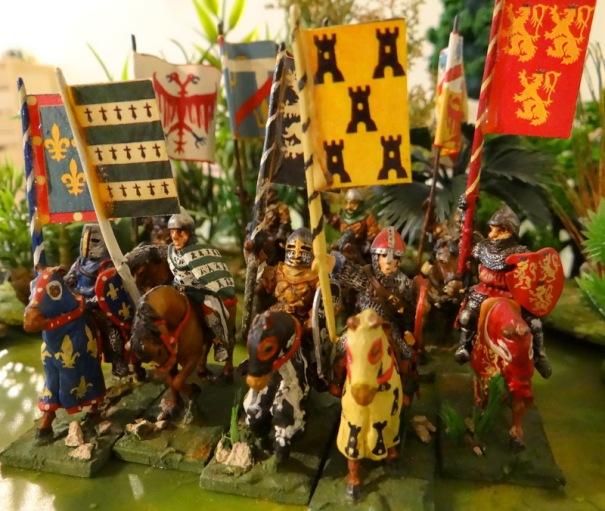 un extrait du grand armorial de Saint Emilion. Le document est disponible au syndicat d'initiative du village. Figurines ESSEX et Touller voir customisées datant des années 80.