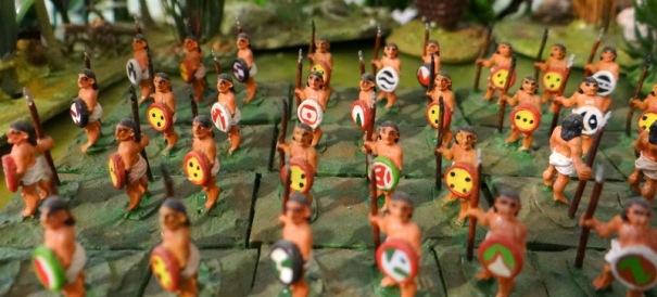 Les apprentis guerriers. A lire : Azteca de Gary Jennings paru en 1982 qui décrit notamment et de façon très vivante l'apprentissage du guerrier.