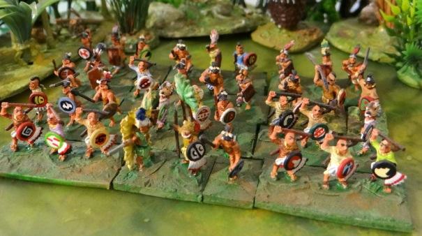 Un groupe de guerriers et de chevaliers des ordres mineurs (chacal etc ...)