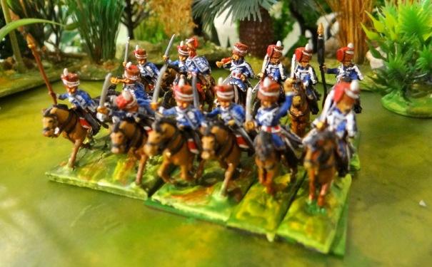 hussards en Espagne