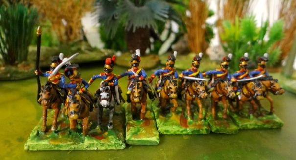 """La maison du roi avec les """"blues"""" ou horses guards"""