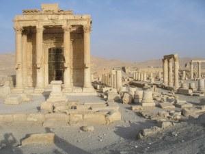 Le temple de Baal détruit par daesh dernièrement.