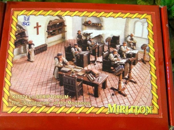 Scène de monastère par Mirliton.