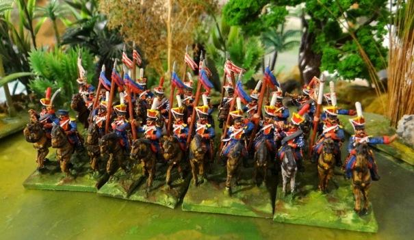 Ils ont fier allure même si Old Glory trouve toujours le moyen de glisser dans ses packs des figurines improbables lors d'un défilé (touchées par un feu).