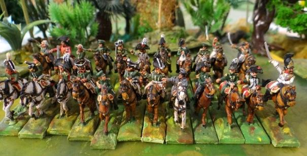 Seul Platow fait défaut, il est resté avec ses cosaques dans une autre vitrine !