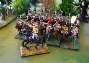 Le vieux régiment des gardes du corps saxons récupère un colonel.