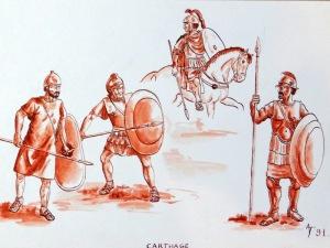 Carthage. Je ne crois pas que les figurines ont été produites.