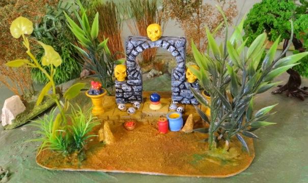 le temple en ruine rencontré en pleine jungle !