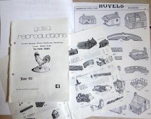 les catalogues de l'époque. A noter que les modèles étaient déjà chers ! - de 60 à 80 frs la maison 15mm