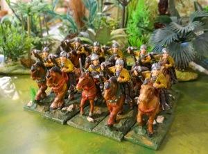 Tant qu'on est dans les vieilleries voila des arbalétriers à cheval de la gamme Citadel ancêtre de Foundry
