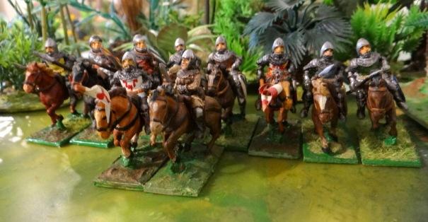 Des chevaliers ou écuyers fin XIIéme