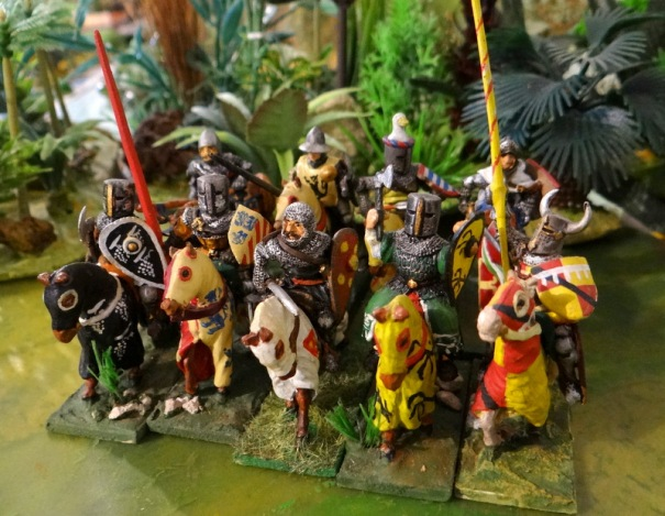 Chevaliers suite (un Touller Espagnol sur l'arrière)