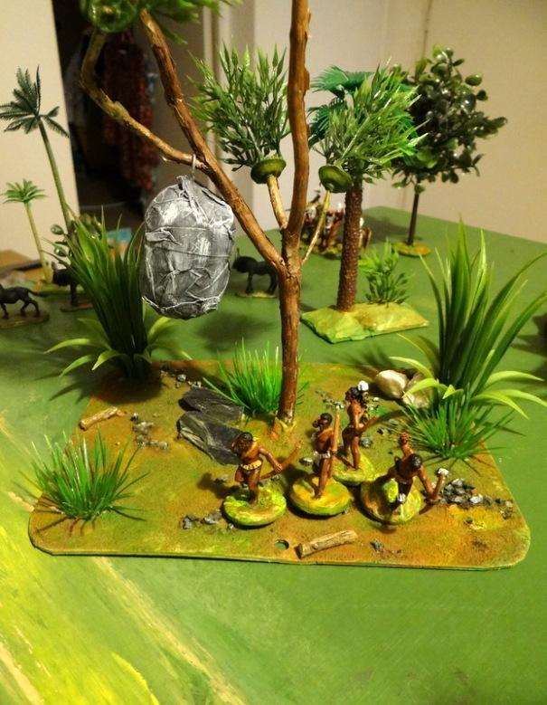 Croyant aller plus vite le groupe d'archer traverse un terrain dangereux et tombe sur un nid de frelons. C'est la débandade.