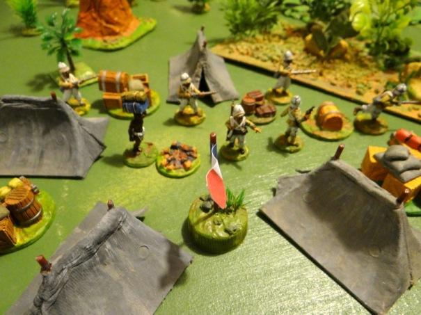 Le camp de la légion