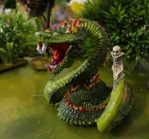 Le serpent, ça aussi il les aime bien !