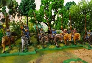 Pour alléger le tout, voilà de la cavalerie milicienne peu fiable mais utilisable en reconnaissance.