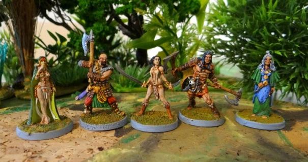 Conan, Bêlit et quelques amis.