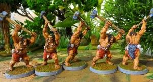Quelques pictes avec de gros marteaux. Là on est vraiment dans le monde de Conan.
