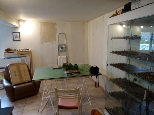 D'autant que j'ai entrepris le réaménagement de ma pièce ......... en commençant par la tapisserie qui avait souffert d'une inondation.
